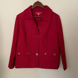 Allison Daley quilted front jacket